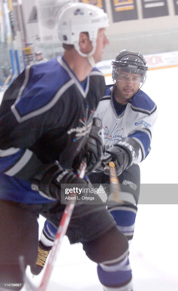 Jason Priestley during Starlight Starbright Children's Foundations 3rd Annual 'Stars with Sticks' Game at Toyota Sports Center in El Segundo CA...