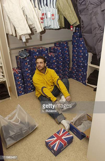 Jason Priestley enjoys the Reebok Retreat during the Sundance Film Festival in Park City Utah January 14 2002