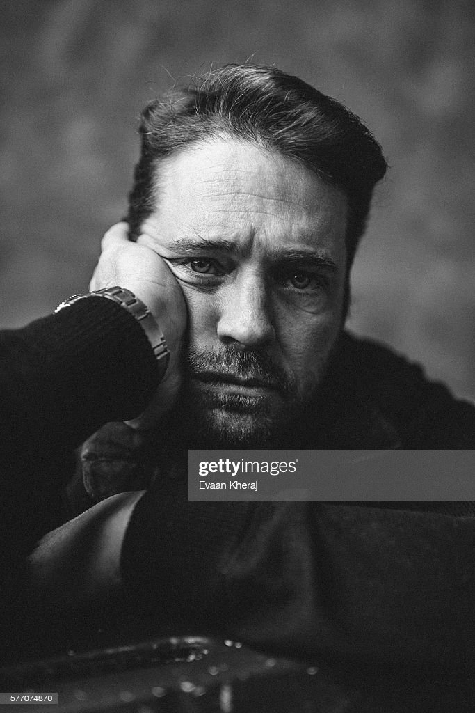 Jason Priestley is photographed for Elle Canada on December 7, 2013 in Whistler, British Columbia.