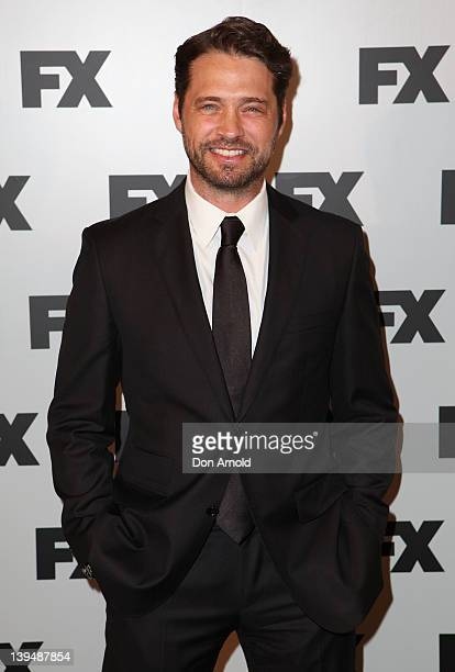 Jason Priestley poses during the FX channel launch at Swifts Darling Point on February 22 2012 in Sydney Australia