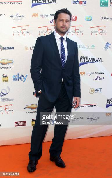 Jason Priestley ttends the opening night of Fiction Fest 2010 at Castel Sant'Angelo on July 5 2010 in Rome Italy