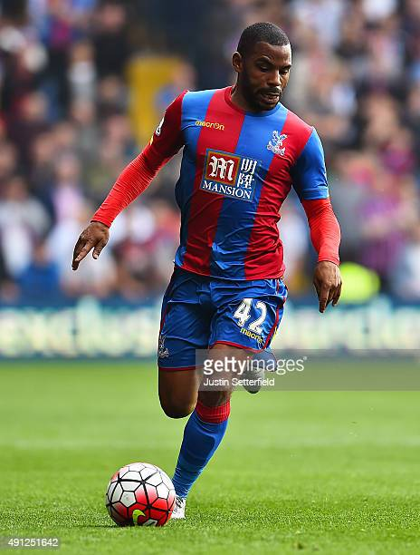 Jason Puncheon of Crystal Palace during the Barclays Premier League match between Crystal Palace and West Bromwich Albion at Selhurst Park on October...