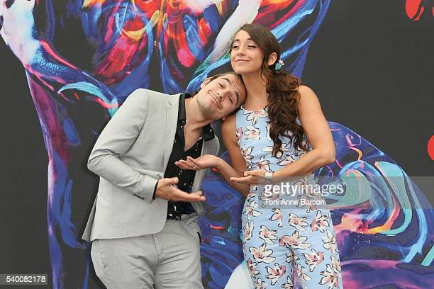Jason Ralph and Stella Maeve attends 'The Magicians' Photocall as part of the 56th Monte Carlo Tv Festival at the Grimaldi Forum on June 13 2016 in...