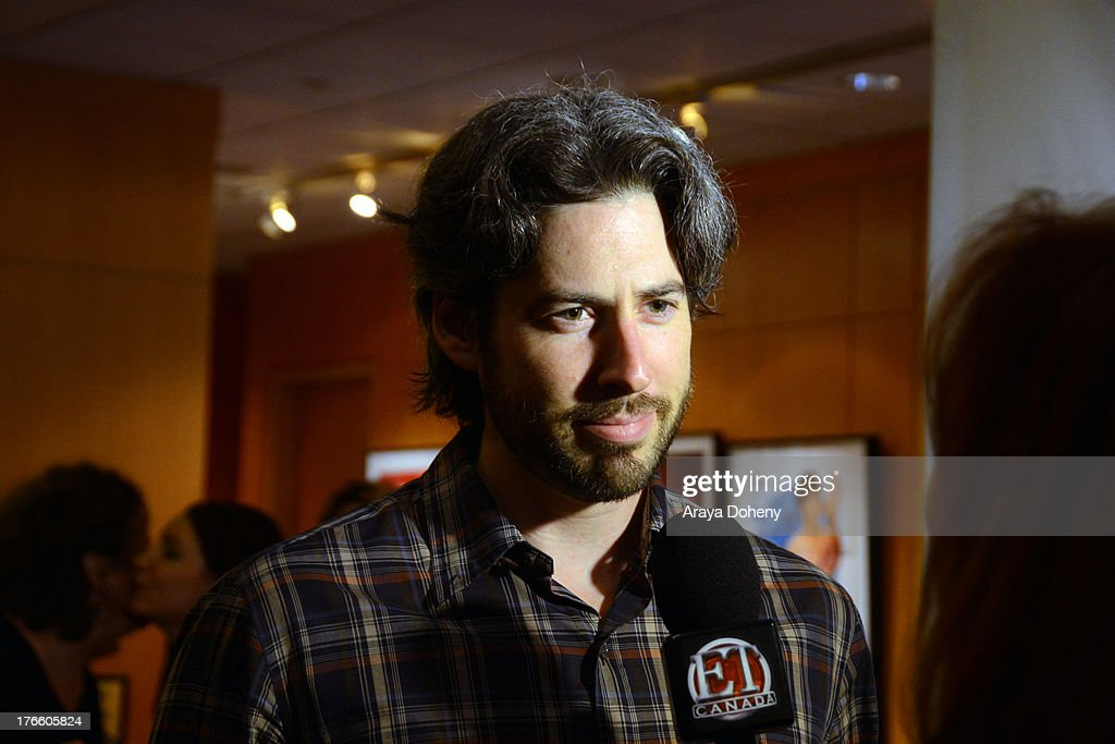 <a gi-track='captionPersonalityLinkClicked' href=/galleries/search?phrase=Jason+Reitman&family=editorial&specificpeople=627880 ng-click='$event.stopPropagation()'>Jason Reitman</a> attends the Academy Of Motion Picture Arts And Sciences' Presents 'The Princess Bride' With Live Commentary Onstage at AMPAS Samuel Goldwyn Theater on August 15, 2013 in Beverly Hills, California.