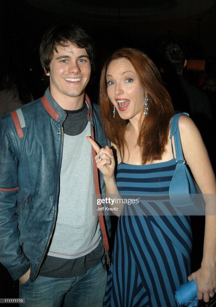 Jason Ritter and Amy Yasbeck during 'Bad Santa' - Los Angeles Premiere and After-Party at Bruin Theater in Westwood, California, United States.