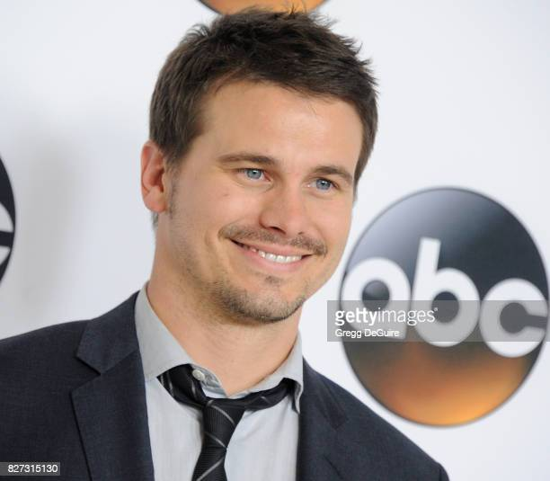 Jason Ritter arrives at the 2017 Summer TCA Tour Disney ABC Television Group at The Beverly Hilton Hotel on August 6 2017 in Beverly Hills California