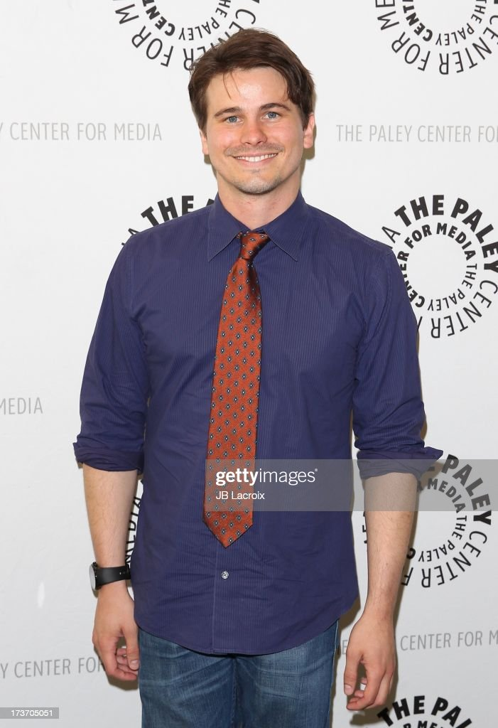 <a gi-track='captionPersonalityLinkClicked' href=/galleries/search?phrase=Jason+Ritter&family=editorial&specificpeople=209201 ng-click='$event.stopPropagation()'>Jason Ritter</a> attends 'An Evening With Web Therapy: The Craze Continues...' held at The Paley Center for Media on July 16, 2013 in Beverly Hills, California.