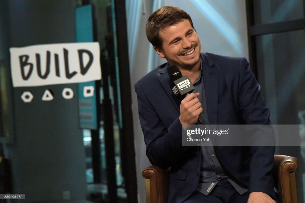 Jason Ritter attends Build series to discuss 'Kevin (Probably) Saves The World' at Build Studio on October 9, 2017 in New York City.