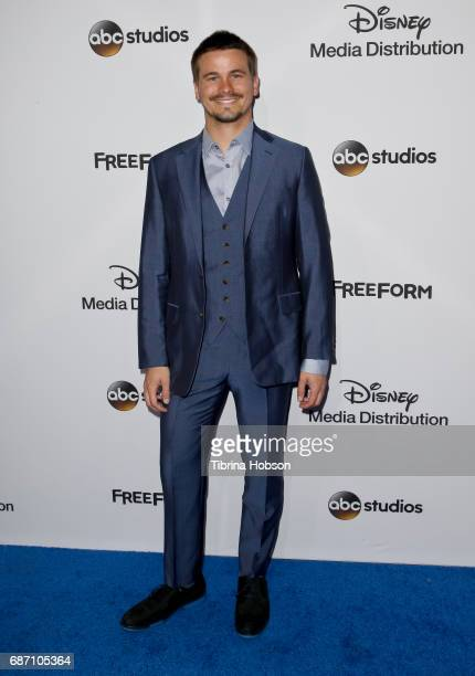 Jason Ritter attends the 2017 ABC/Disney Media Distribution International Upfronts at Walt Disney Studio Lot on May 21 2017 in Burbank California