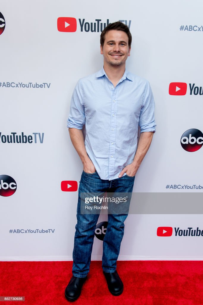 Jason Ritter attends the ABC Tuesday night block party event at Crosby Street Hotel on September 23, 2017 in New York City.