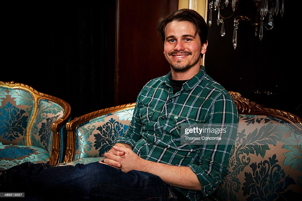 <a gi-track='captionPersonalityLinkClicked' href=/galleries/search?phrase=Jason+Ritter&family=editorial&specificpeople=209201 ng-click='$event.stopPropagation()'>Jason Ritter</a> visits the WireImage portrait studio at the Tribeca Film Festival Films 'About Alex,' 'Gabriel,' & 'Match' Tribeca Press Day At The Carlton Hotel Hosted With Fiji Water And Dobel Tequilaon April 18, 2014 in New York City.