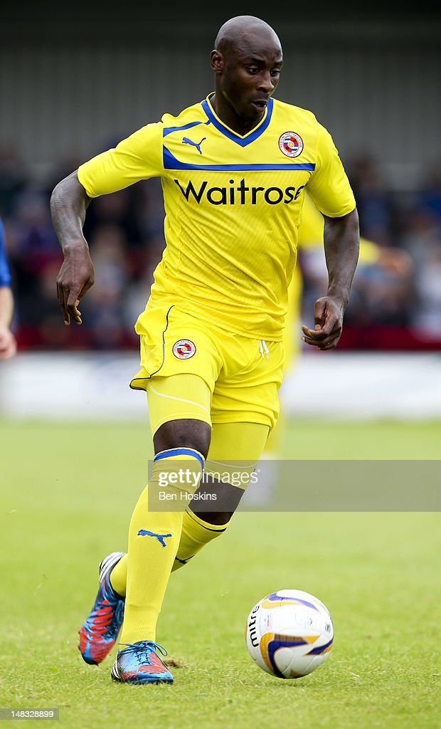 Jason Roberts of Reading in action during a pre season friendly match between AFC Wimbledon and Reading at the Kingsmeadow Stadium on July 14, 2012 in Kingston, England.