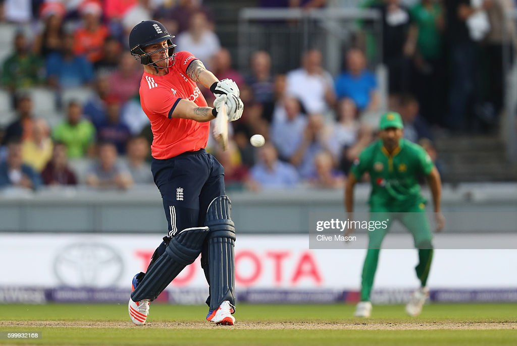 England v Pakistan - NatWest International T20 : News Photo