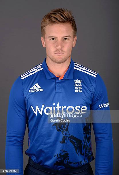 Jason Roy of England poses for a portrait at Edgbaston on June 8 2015 in Birmingham England