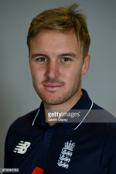 Jason Roy of England poses for a portrait at The Brightside Ground on May 4 2017 in Bristol England