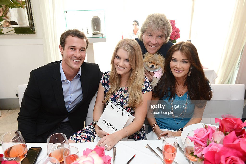 Jason Sabo, Pandora Vanderpump, Kenneth Todd, and Lisa Vanderpump attend the PANDORA jewelry Mothers Day celebration with the Vanderpumps on May 6, 2013 in Beverly Hills, California.