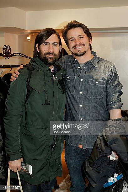 Jason Schwartzman and Jason Ritter attend The Variety Studio Sundance Edition Presented By Dawn Levy on Day 4 of the 2014 Park City2014 in Park City...