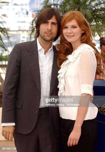 Jason Schwartzman and Kirsten Dunst pose for photographers during the photocall for Marie Antoinette in the Palais des Festival during the 59th...