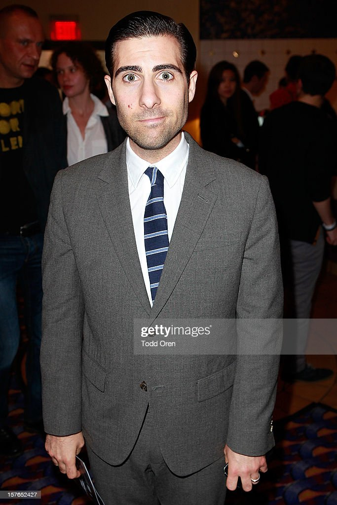 <a gi-track='captionPersonalityLinkClicked' href=/galleries/search?phrase=Jason+Schwartzman&family=editorial&specificpeople=216351 ng-click='$event.stopPropagation()'>Jason Schwartzman</a> attends as Intel and W Hotels present Four Stories Film Series at W Hotel Los Angeles - Westwood on December 4, 2012 in Westwood, California.