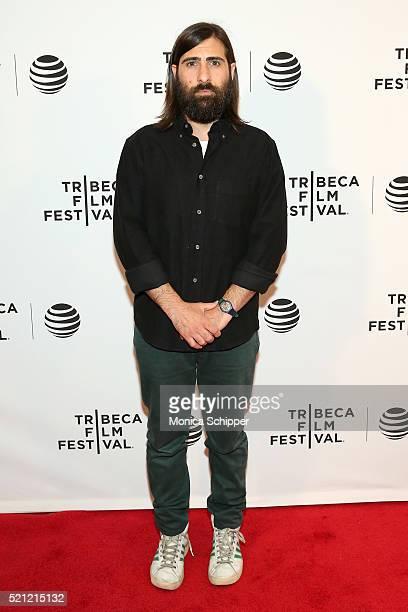 Jason Schwartzman attends 'Dreamland' Premiere 2016 Tribeca Film Festival at Chelsea Bow Tie Cinemas on April 14 2016 in New York City