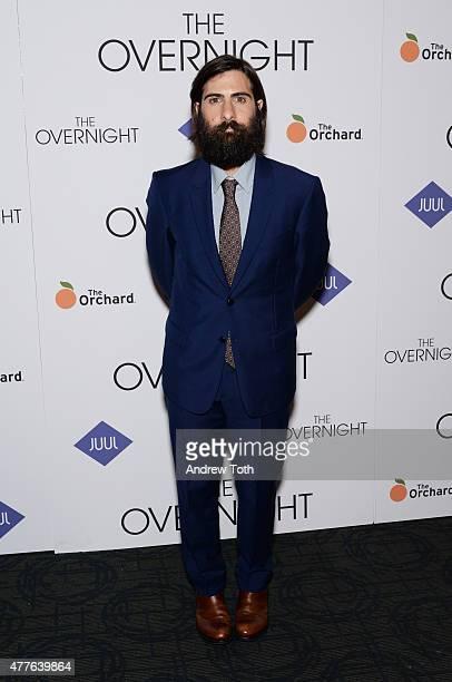 Jason Schwartzman attends 'The Overnight' premiere at Sunshine Landmark on June 18 2015 in New York City
