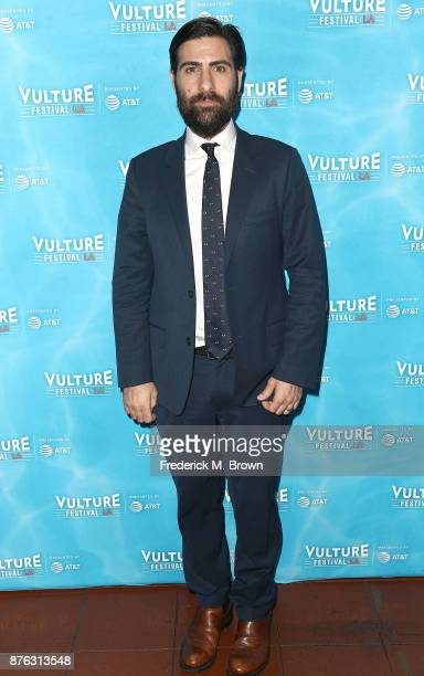 Jason Schwartzman attends the Vulture Festival Los Angeles at the Hollywood Roosevelt Hotel on November 19 2017 in Hollywood California