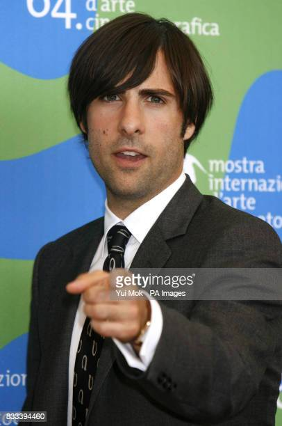 Jason Schwartzman during a photocall for the film 'The Darjeeling Limited' at the Venice Film Festival in Italy PRESS ASSOCIATION Photo Picture date...