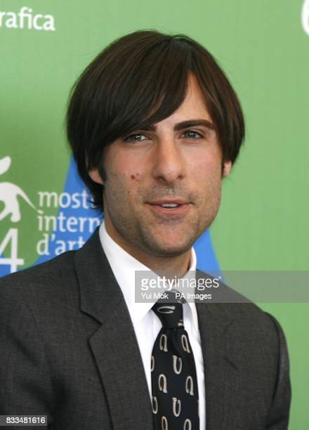 Jason Schwartzman during a photocall for the film 'The Darjeeling Limited' at the Venice Film Festival in Italy