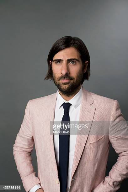 Jason Schwartzman poses for a portrait at The Theatre At The Ace Hotel on August 10 2014 in Los Angeles California