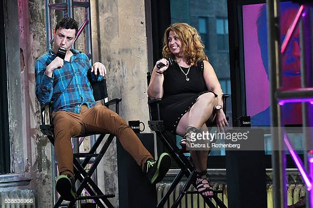 Jason Scoop and Rachel Butera attend the AOL Speaker SeriesRachel Butera and Jason Scoop 'First Impressions' at AOL Studios In New York on June 8...