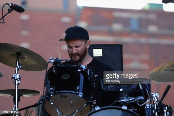 Jason Sechrist of the band Portugal The Man performs at the Radio 1045 Summer Block Party August 20 2017 in Philadelphia Pennsylvania