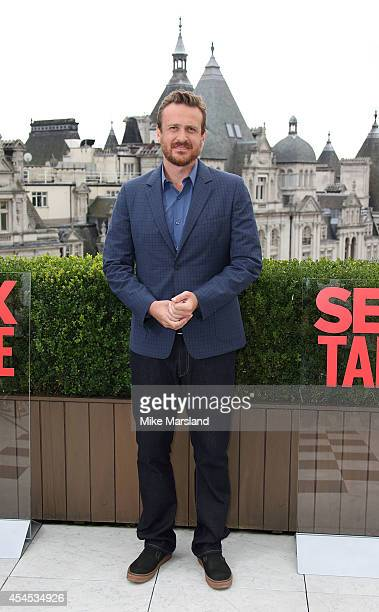 Jason Segal attends a photocall for 'Sex Tape' at Corinthia Hotel London on September 3 2014 in London England