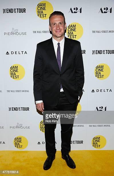 Jason Segel attends BAMcinemaFest 2015 'The End Of The Tour' opening night screening at BAM Howard Gilman Opera House on June 17 2015 in New York City