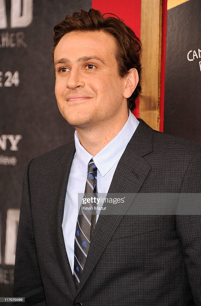 Jason Segel attends the New York premiere of 'Bad Teacher' at the Ziegfeld Theatre on June 20, 2011 in New York City.