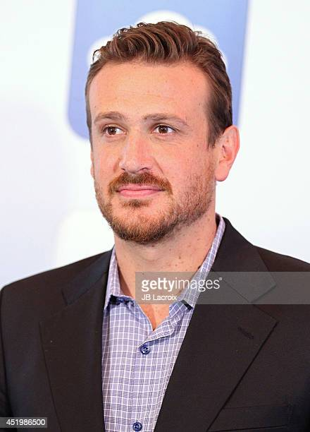 Jason Segel attends the 'Sex Tape' photo call held at the Four Seasons Hotel on July 10 2014 in Beverly Hills California