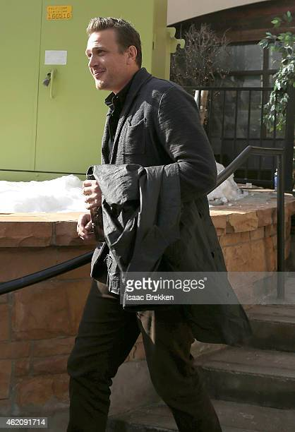 Jason Segel attends The Village at The Lift 2015 on January 24 2015 in Park City Utah