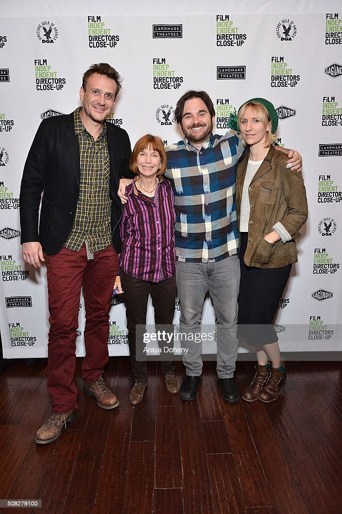 <a gi-track='captionPersonalityLinkClicked' href=/galleries/search?phrase=Jason+Segel&family=editorial&specificpeople=2220388 ng-click='$event.stopPropagation()'>Jason Segel</a>, <a gi-track='captionPersonalityLinkClicked' href=/galleries/search?phrase=Jane+Anderson&family=editorial&specificpeople=2243577 ng-click='$event.stopPropagation()'>Jane Anderson</a>, <a gi-track='captionPersonalityLinkClicked' href=/galleries/search?phrase=James+Ponsoldt&family=editorial&specificpeople=2083930 ng-click='$event.stopPropagation()'>James Ponsoldt</a> and <a gi-track='captionPersonalityLinkClicked' href=/galleries/search?phrase=Mickey+Sumner&family=editorial&specificpeople=665557 ng-click='$event.stopPropagation()'>Mickey Sumner</a> attend the Film Independent Director Close Up: <a gi-track='captionPersonalityLinkClicked' href=/galleries/search?phrase=James+Ponsoldt&family=editorial&specificpeople=2083930 ng-click='$event.stopPropagation()'>James Ponsoldt</a> And <a gi-track='captionPersonalityLinkClicked' href=/galleries/search?phrase=Jason+Segel&family=editorial&specificpeople=2220388 ng-click='$event.stopPropagation()'>Jason Segel</a> at Landmark Theatre on February 3, 2016 in Los Angeles, California.