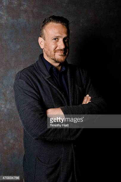 Jason Segel portrait session at 'THE END OF THE TOUR' Screening at Virginia Theatre on April 16 2015 in Champaign Illinois