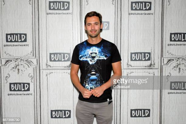 Jason Silva attends the Build Series to discuss 'Origins The Journey of Human' at Build Studio on March 24 2017 in New York City