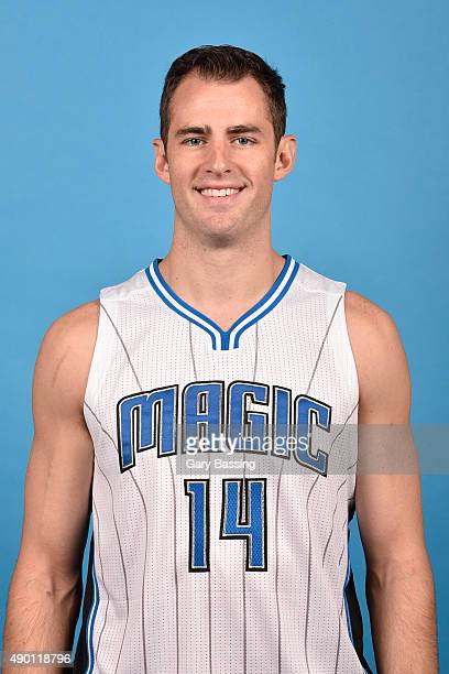 Jason Smith of the Orlando Magic poses for a headshot during NBA Media Day on September 25 2015 at Amway Center in Orlando Florida NOTE TO USER User...