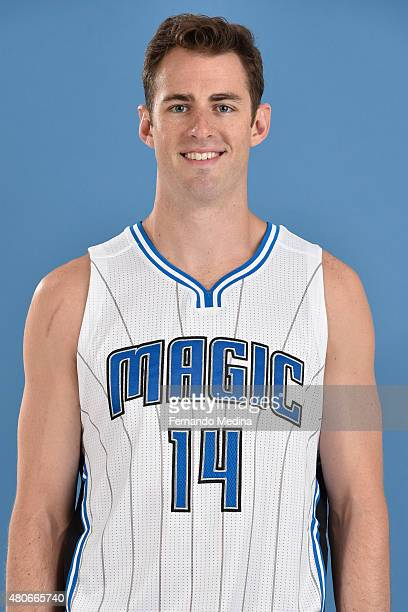 Jason Smith of the Orlando Magic poses for a headshot on July 14 2015 at Amway Center in Orlando Florida NOTE TO USER User expressly acknowledges and...