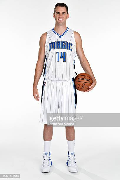 Jason Smith of the Orlando Magic poses for a portrait during NBA Media Day on September 25 2015 at Amway Center in Orlando Florida NOTE TO USER User...