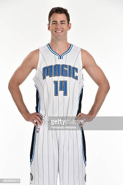 Jason Smith of the Orlando Magic poses for a portrait on July 14 2015 at Amway Center in Orlando Florida NOTE TO USER User expressly acknowledges and...