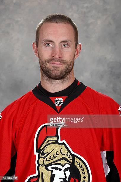 Jason Smith of the Ottawa Senators poses for his official headshot for the 20082009 NHL season