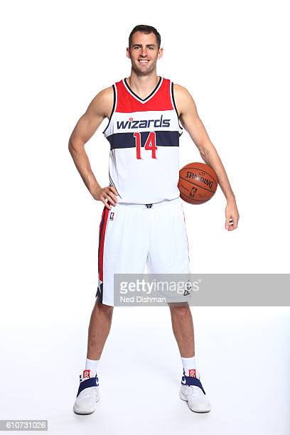 Jason Smith of the Washington Wizards poses for a portrait during the 20162017 Media Day on September 26 2016 at the Verizon Center in Washington DC...