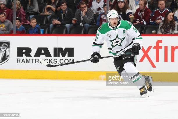 Jason Spezza of the Dallas Stars skates against the Colorado Avalanche at the Pepsi Center on December 3 2017 in Denver Colorado The Stars defeated...