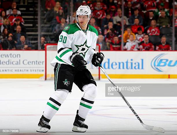 Jason Spezza of the Dallas Stars skates against the New Jersey Devils in the third period on January 22016 at Prudential Center in Newark New...