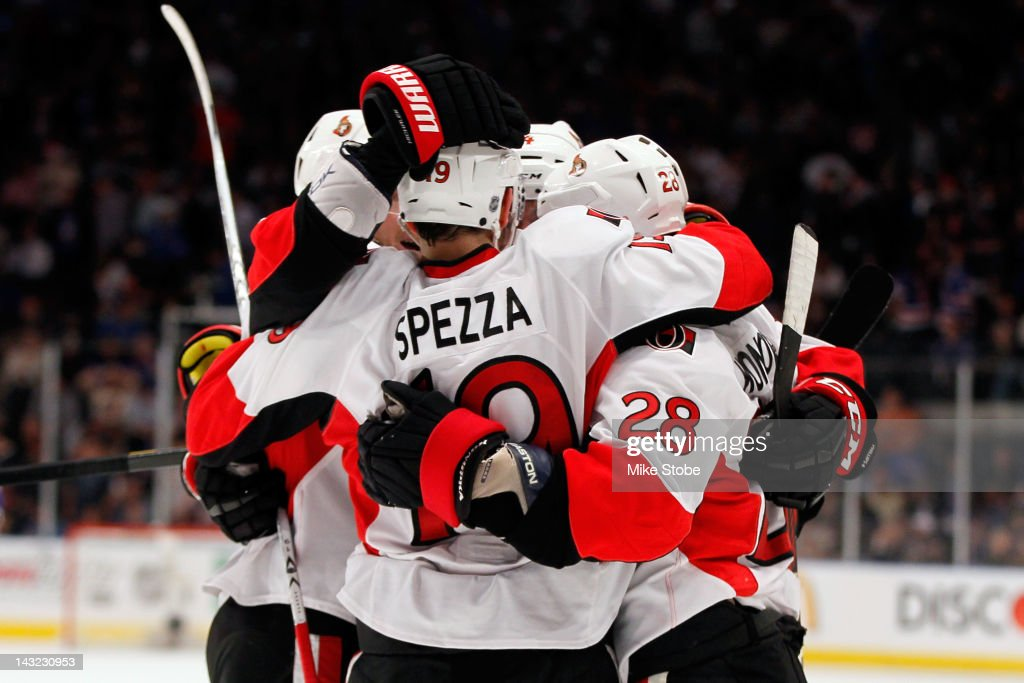 Ottawa Senators v New York Rangers - Game Five