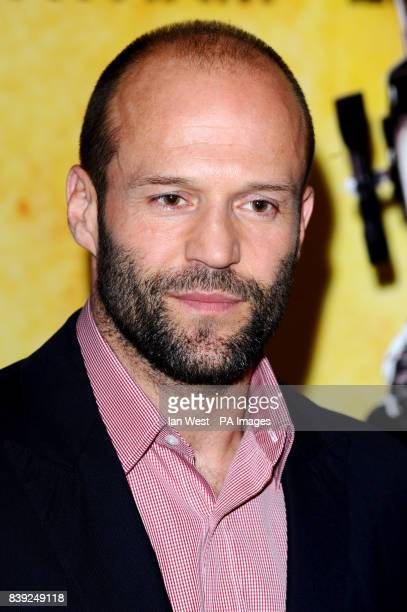 Jason Statham arrives at a photocall for new film The Expendables at the Dorchester in London Picture date Monday August 9 2010 See PA story SHOWBIZ...