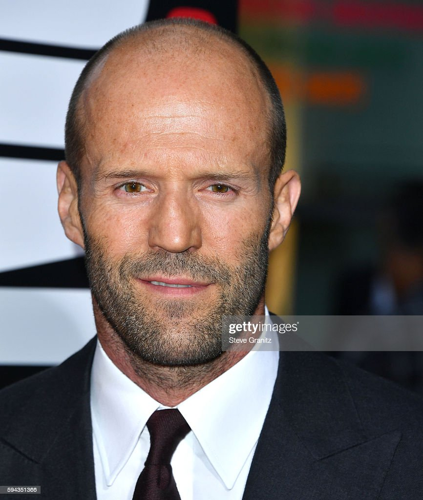 Jason Statham arrives at the Premiere Of Summit Entertainment's 'Mechanic Resurrection' at ArcLight Hollywood on August 22 2016 in Hollywood...